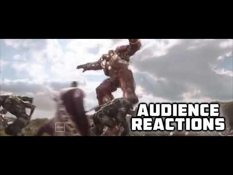Groot  Stormbreaker Clip Avengers Infinity War Best Audience Reactions