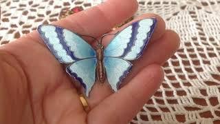 # 122 . Винтаж..БРОШИ...🦋🦋🦋 Моя коллекция винтажных бабочек.