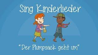 Der Plumpsack geht um - Kinderlieder zum Mitsingen   Sing Kinderlieder