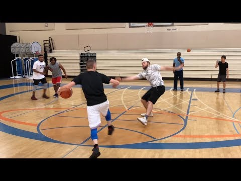 Professor Embarrasses Friend with Anklebreaker To End Game!