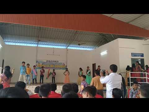 Oxford Central School Karavalur smart kids day celebration program
