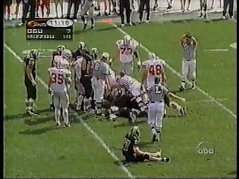 1997: Ohio State v. Missouri (Drive-Thru)