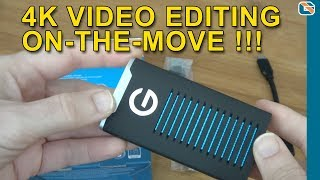 G-TECHNOLOGY G-DRIVE Mobile SSD R SERIES Speed Test and Review