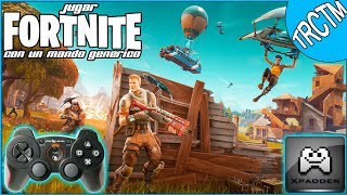 play fortnite with a generic controller on pc with xpadder