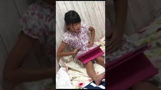 小2の娘TVでみてすごく気に入ったらしい 練習中.