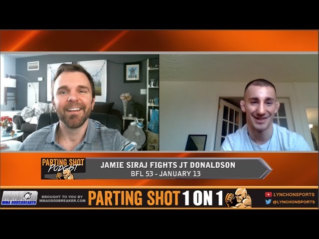 Jamie Siraj talks BFL 53 fight Jan. 13, Layoff and signing with First Round Management