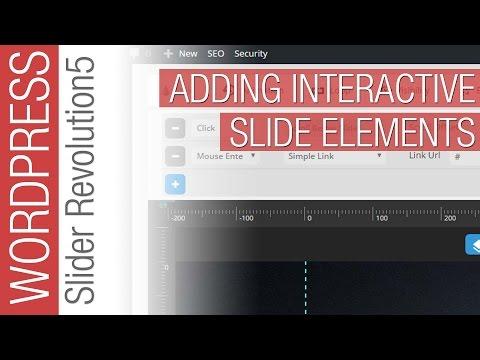How To Add Interactivity to Slider Revolution 5 for WordPress - 동영상