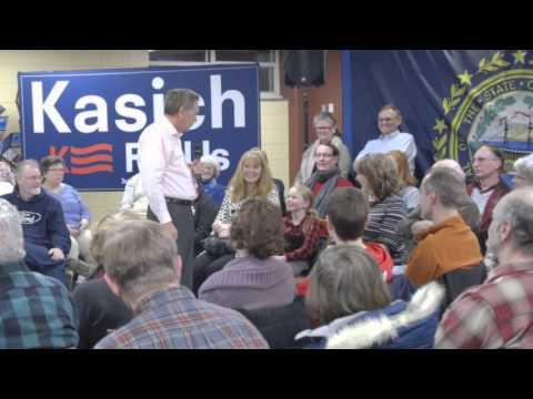 The #Kasich4UsBus   New Hampshire