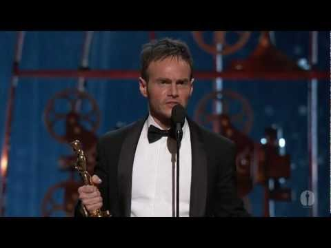 "Chris Terrio winning Best Adapted Screenplay for ""Argo"""
