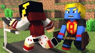 Minecraft: VAMOS FAZER ACADEMIA - Batalha de Construir ‹ AM3NIC ›