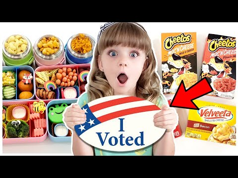 KIDS VOTE! ✅ MAC & CHEESE THROW DOWN! | BUNCHES OF LUNCHES