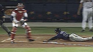 Goodwin hits an inside-the-park homer