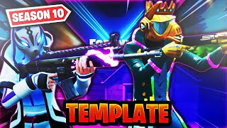 FREE Fortnite Season 10 Thumbnail Template!