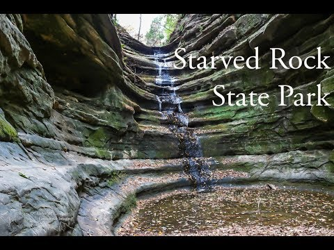 Starved Rock State Park Canyons Hike 2017