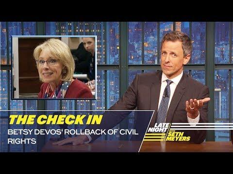 The Check In: Betsy DeVos