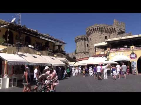 Rhodes Island, Greece - A brief video tour (Rodos, Rhodos)