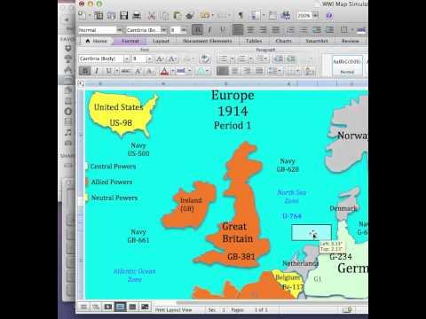 World War I Simulation Lesson Plan: Submarine Warfare
