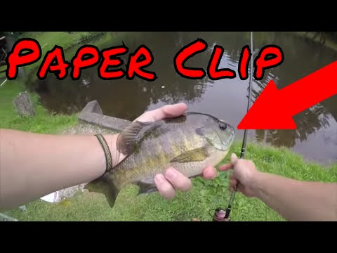 Paper Clip Fishing Challenge!