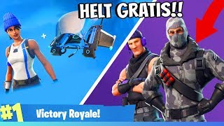 SHOWS YOU HOW TO GET FREE SKINS IN FORTNITE BATTLE ROYALE! (Completely free)