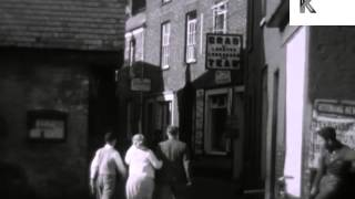 1930s Cornwall, UK, Rare16mm Home Movies Archive Footage
