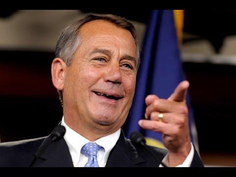 Former House Speaker John Boehner Cashes In After Selling Out