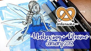 ARTSNACKS Unboxing + Review ~ January 2018
