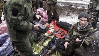 Ополченцы нашли тайник с иностранным оружием и боеприпасами. Ополчение Новороссии.