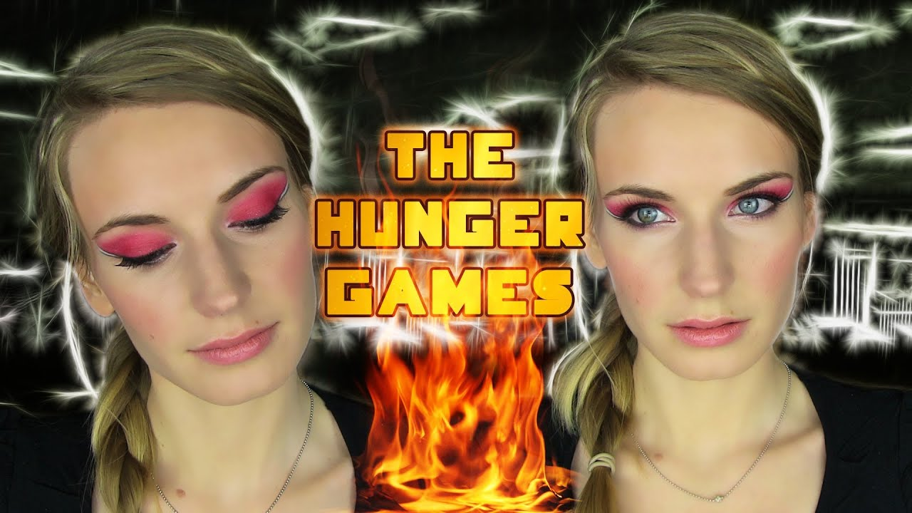 Jennifer Lawrence Catching Fire Makeup Tutorial! The Hunger Games 2 Red Smokey Eye Makeup