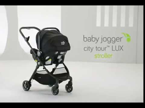 Attaching A Car Seat Adapter To The City Tour Lux
