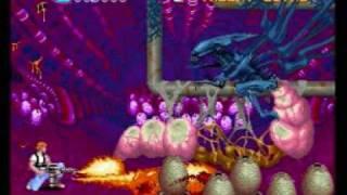 Aliens by Konami - The Alien Queen