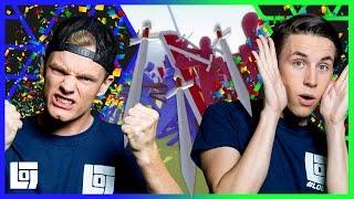 Totally Accurate Battle Simulator met Enzo en Link | Let