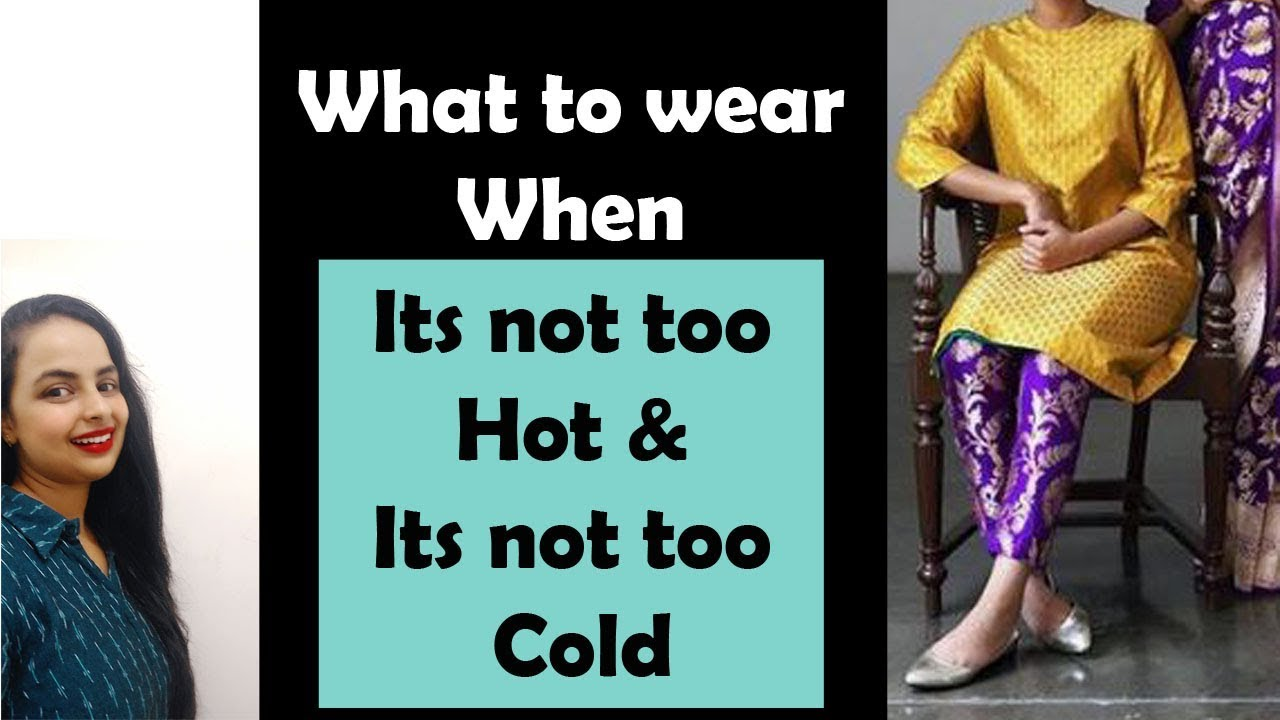 [VIDEO] - Pre Winter Outfit Ideas| What to wear in this mildly cool season? 2