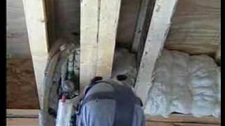 Spray Foam Insulation - The Intelligent Choice