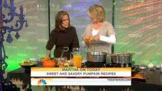 Martha Stewart's Harvest Pumpkin Soup