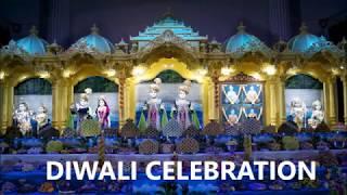 BAPS  (Swaminarayan Mandir) Diwali Celebration 2017 baps Temple