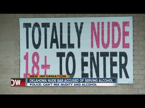Oklahoma nude bar accused of serving alcohol