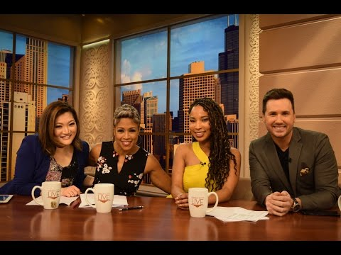 Brianna Woolridge Cohosts Windy City Live - Dream Big, Dream Gig
