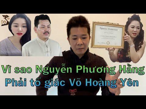 Võ Hoàng Yên tiết lộ ghi âm Nguyễn Phương Hằng chứng minh cái gì