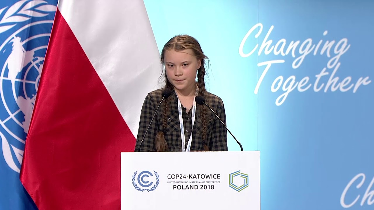 Transcript: Greta Thunberg's Speech At The UN Climate Action Summit