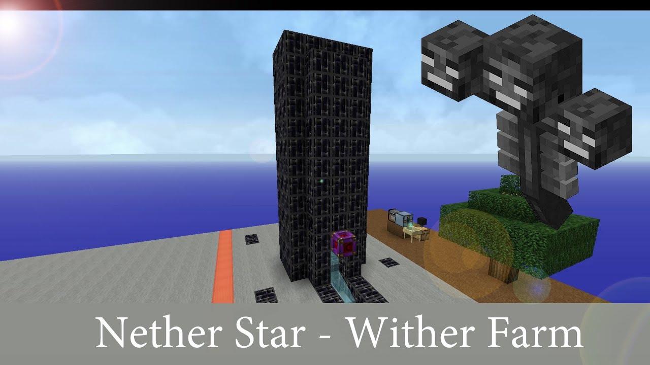 Nether Star Farm / Wither Farm - Minecraft Tutorial - Deutsch