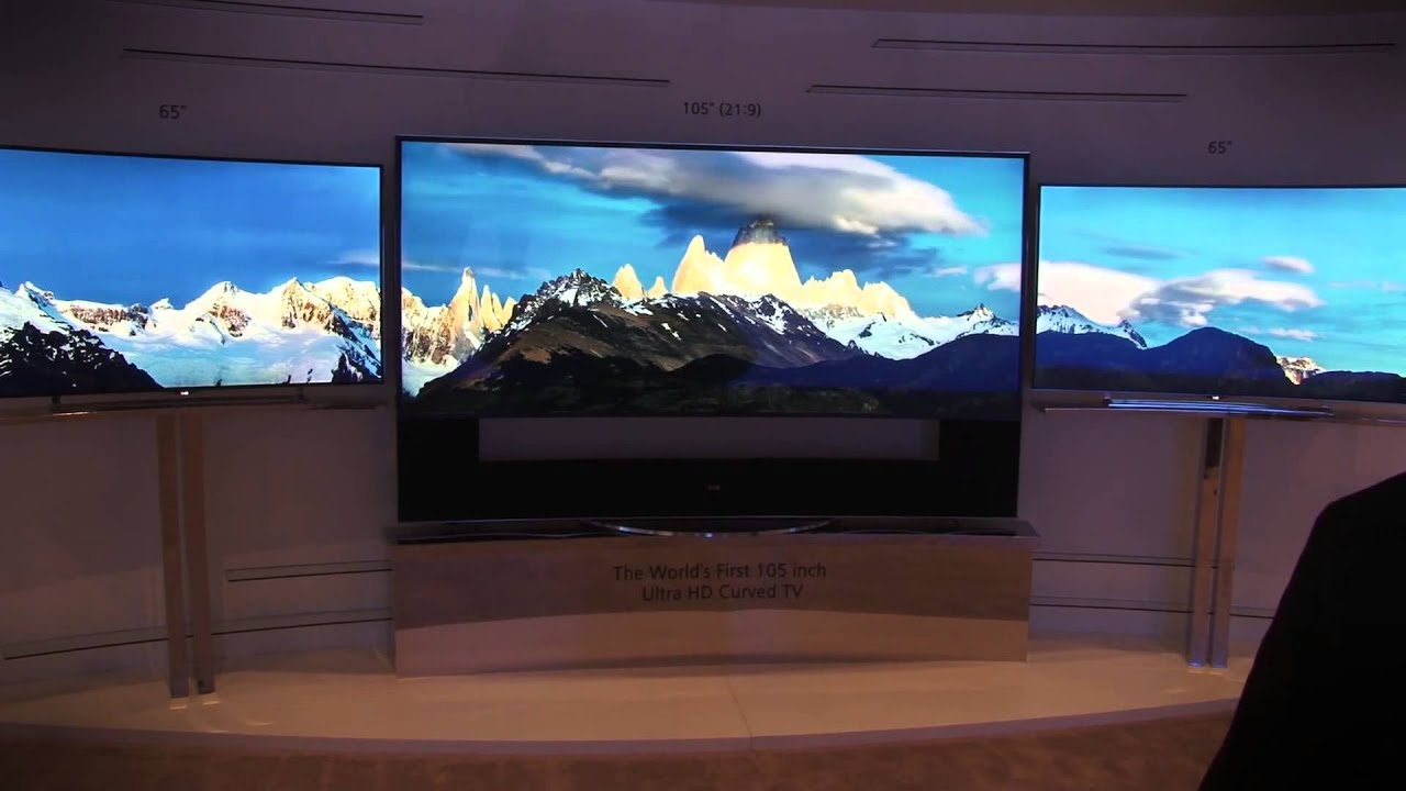 Is Lgs Awesome 105 Inch Curved 4k Hdtv The Shape Of Things To Come