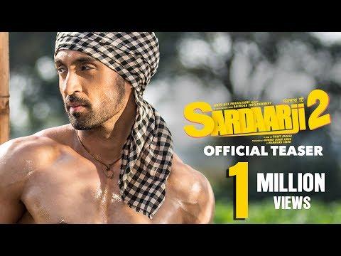 Sardaarji 2   Official Teaser   Diljit Dosanjh, Sonam Bajwa, Monica Gill   Releasing 24 June