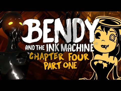 RETURN OF THE SPOOKS!!! | Bendy and the Ink Machine | Chapter 4 - Part 1