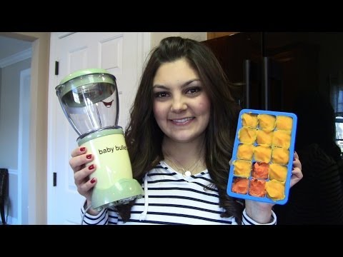 Homemade Baby Food w/ The Baby Bullet!