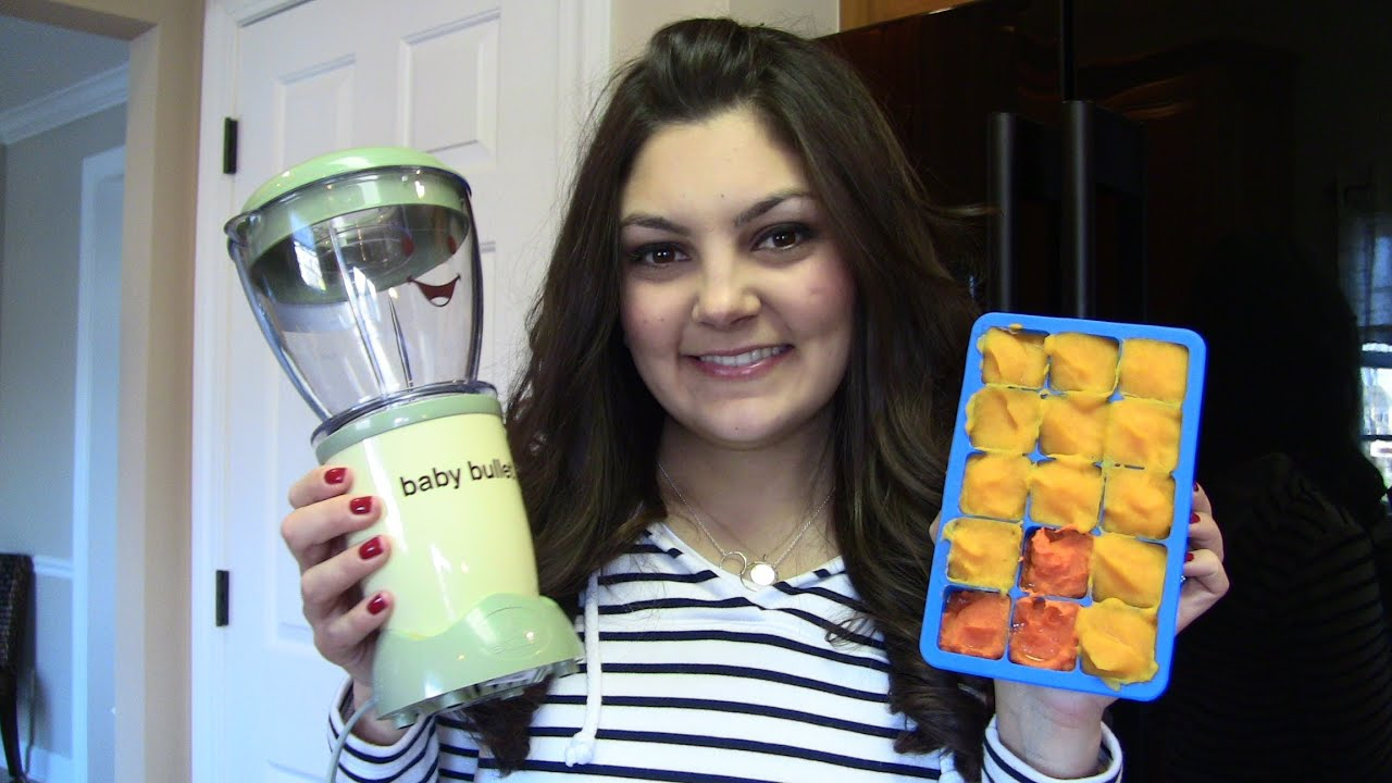 Homemade baby food w the baby bullet youtube forumfinder Gallery