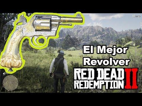 El Mejor Revolver Red Dead Redemption 2 / Revolver De Algernon Guia Paso a Paso  Revolver Secreto