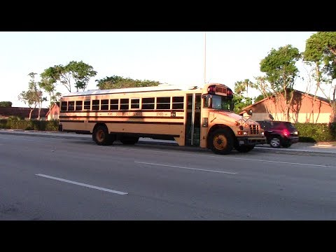 MIAMI DADE DISTRICT SCHOOL BUSES AND PRIVATE OPERATORS SCHOOL BUSES 2017 PART 1