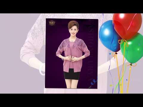 Các Mẫu áo Len Trung Niên Hàn Quốc đẹp Tại Lury Fashion