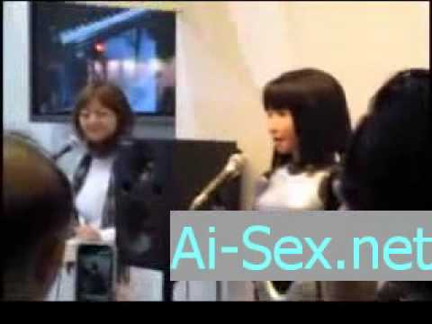 Japanese Android can sing and Fuck.