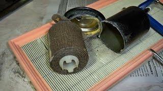 Замена топливного фильтра на ваз 2112 и что внутри него за год!